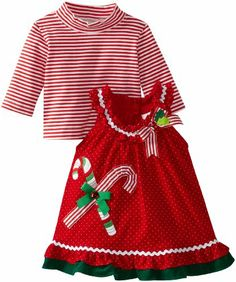 Rare Editions Baby Baby-girls Newborn Dot Cord Jumper With Green Ruffle, Red, 3 Months Rare Editions,http://www.amazon.com/dp/B00D875174/ref=cm_sw_r_pi_dp_nyrzsb0B3QXZQQD7