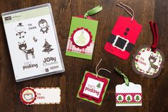 Christmas Tags! (No Peeking stamp set)