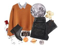 """""""Sin título #192"""" by starscounter394 on Polyvore featuring moda, MANGO, Seletti, Nudie Jeans Co. y Lipstik"""