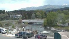 Downtown Web Cam - Looking East  At the San Juan River flowing through downtown from the Jim Smith Realty Building in downtown Pagosa Springs!