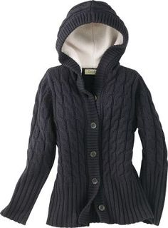 Cabela's: Cabela's Women's Sherpa Fleece-Lined Cable-Knit Cardigan ...