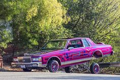 As a member of Highclass Car Club it was almost expected that Rolando Valdovinos' 1980 Caprice Landau would turn out as wild as it did. Monte Carlo Car, Vintage Cars, Antique Cars, 1962 Chevy Impala, Ferrari F12berlinetta, Lowrider Trucks, Gangsta Quotes, Cool Old Cars, Lux Cars