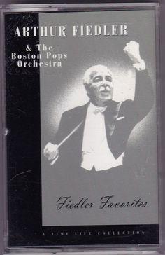 Arthur Fiedler & The Boston Pops Orch. Fiedler Favorites Cassette/ 1996/ BMG/ EX #ChamberMusic