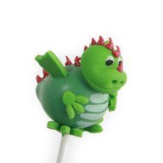 Cake pop draak www.poppylicious.nl  #cakepops #draak #dragon