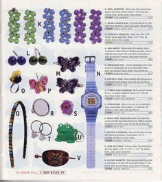 These cheery accessories. | 23 Of The Most '90s Fashions From The Spring '97 Delia's Catalog
