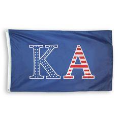 Kappa Alpha Stars and Stripes Flag