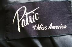 Patric of Miss America, 1950s cocktail dress. Dorothea's Closet Vintage archives
