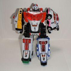 Bandai Power Rangers SPD Dekaranger DX Dekaranger Robo Delta Squad Megazord #Bandai