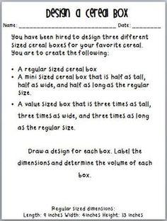 Novembrino Stams Do you teach volume, area, and perimeter? Teaching Volume Unit: Common Core Aligned Grade PBL or GT? Teaching 5th Grade, Fifth Grade Math, 5th Grade Classroom, Student Teaching, Grade 3, Classroom Teacher, Sixth Grade, Teaching Tools, Teaching Ideas