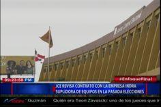 JCE Revisa Contrato Con La Empresa INDRA, Suplidora De Equipos En La Pasada Elecciones