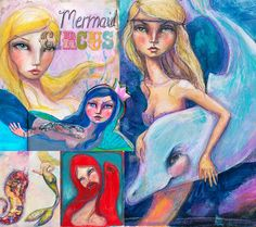Jane Davenport - Mermaids