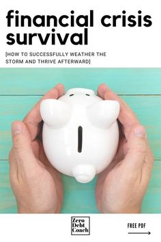 This survival guide is aimed at helping you reduce the overwhelm in organizing your finances during a crisis. The COVID19 pandemic caught a lot of our audience off guard financially but is proving to be a wake up call to 1) get our finances organized and 2) get on a budget and 3) get out of debt! Ways To Save Money, Money Tips, Money Saving Tips, Living On A Budget, Frugal Living Tips, Budgeting Finances, Budgeting Tips, Financial Tips, Financial Planning
