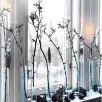 Décoration fenêtre: des idées pour Noël