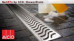 Transform your bathroom with QuARTz ACO ShowerDrain linear shower drains for tiled shower areas. Bathroom Spa, Bathroom Fixtures, Bathroom Ideas, Linear Drain, Shower Drain, High Art, Bathroom Flooring, Closets, Animal Print Rug