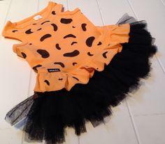 Pebbles Flintstone Dog dress with added black #tutu by FetchDogFashions on Etsy $21.99-$29.99 #etsy #dogdress