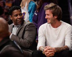 Pin for Later: Ces Célébrités Sont Tout Aussi Fans de David Beckham Que Nous Denzel Washington