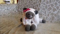 Baby Messages, Crochet Sheep, Baby Cribs, Cot, Little Babies, Babyshower, Bedding, Teddy Bear, Etsy Shop