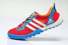 Adidas Daroga Two 11 Cc Wading Shoes Women - Red Blue
