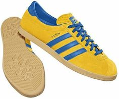 Adidas really did cash in re-releasing the London consortium in 2010 - here we have the Malmo colourway