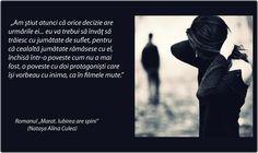Citat din romanul de dragoste Marat. Iubirea are spini (autor Natasa Alina Culea)