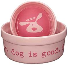 DogIsGood 07 48 Bolo Dish Bowl, Light Blush, You can click image for more details. (This is an affiliate link and I receive a commission for the sales) Dog Feeding, Dog Care, Dog Bowls, Best Dogs, Blush, Dishes, Bowl Light, Doggies, Image Link