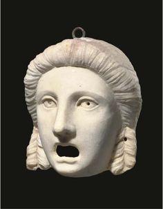 Roman Mask  2nd century AD  Christie's