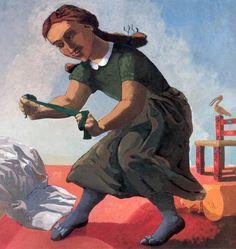 The Little Murderess, 1987 by Paula Rego (b. Paula Rego Art, Feminist Art, Fine Art, Renaissance Art, Contemporary Paintings, Modern Contemporary, Beautiful Paintings, Figure Painting, Figurative Art