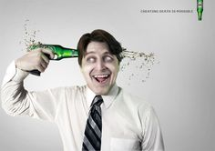 Cheating death is possible - Heineken Advertising campaign