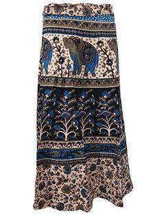 Indian Wrap Skirt Cotton Designer Skirt Spring Summer Boho Dress Mogul Interior http://www.amazon.com/dp/B00RGF7Y2Y/ref=cm_sw_r_pi_dp_wIvBvb0N3FZ2X