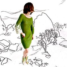 Pattern for sale, but totally worth the purchase!    Ravelry: Spring Dress pattern by Bergrós Kjartansdóttir