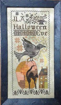 Halloween Eve - Blackbird Designs   Strawberrysampler.com