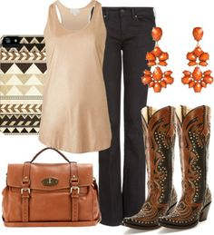 Evening looks for cowgirls by Cassidy Magazine