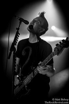 Mark Hoppus, Blink-182 (photo by: Matt Bishop)