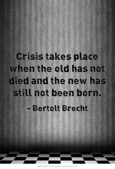 Bertolt Brecht. JD re our conversation ;)