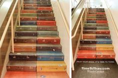DIY awesome stair painting ideas