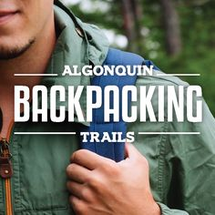 The beauty of Algonquin Park is certainly too grand to enjoy in just one day… Backpacking Trails, Hiking, Algonquin Park, Us Map, Topographic Map, Take Me Home, Ontario, How To Find Out, Country Roads