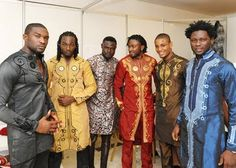 Men in ankara, dashiki, wax all of these will do im talking about the clothes by the way!