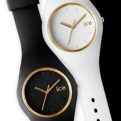 Ice watch glam Ice Watch, Black White Gold, Bago, Diamond Are A Girls bf00e5707286