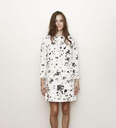Dalmatian Shift Dress