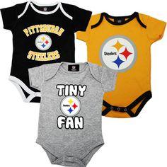 Baby Steelers Onesies