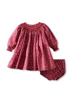 61% OFF Baby CZ by Carolina Zapf Girl's Savannah Dress (Aurora Floral Berry/Wine)