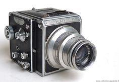 Bentzin Astraflex II Vintage cameras collection by Sylvain Halgand. 1952