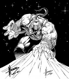 Pitt by Dale Keown Comic Books Art, Comic Art, Book Art, Black And White Comics, Alien Races, Comic Pictures, Image Comics, Dragon Art, Drawing S