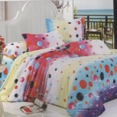 Bubble Printed Cotton Bed Sheets Designer Bed Sheets, Cotton Bedding, Bed Design, Printed Cotton, Comforters, Bubbles, Blanket, Prints, Furniture