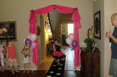 Rock Star Party Ideas for Girls   The girls put on a great concert for everyone!!!
