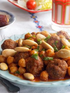 393 non lus) - dramraouinaima - Yahoo Mail Middle East Food, Middle Eastern Recipes, My Recipes, Real Food Recipes, Cooking Recipes, Plats Ramadan, Algerian Recipes, Algerian Food, Ramadan Recipes