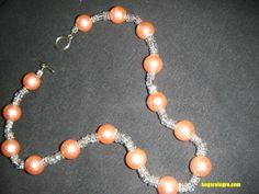 Te explicamos como hacer un collar de bisutería con piedras de cristal, ¡super sencillo!