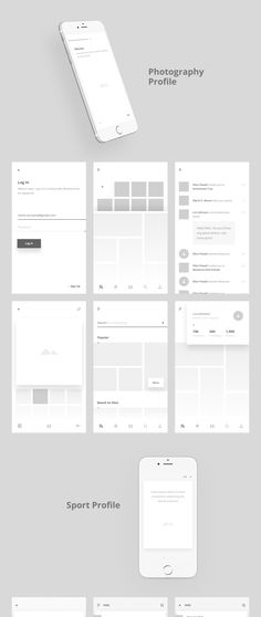 Yet another amazing premium mobile UI kit designed by This is the perfect mobile wireframe kit built specifically for all the Adobe XD users. Included are 7 mini applications, each app features 7 screens + 1 key App Wireframe, Mobile Wireframe, Ui Ux Design, Interface Design, Prototype App, Web Mobile, Design Thinking Process, Ui Design Inspiration, Adobe Xd
