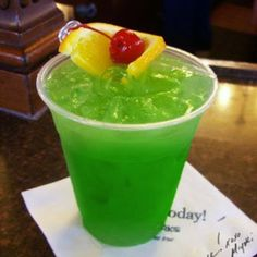 Umm, yes please! Liquid Marijuana Recipe: 1/2 ounce Malibu Rum 1/2 Ounce light Rum 1/2 ounce Blue Curaçao 1/2 ounce apple pucker Equal parts sweet and sour mix + pineapple juice Garnish with a cherry