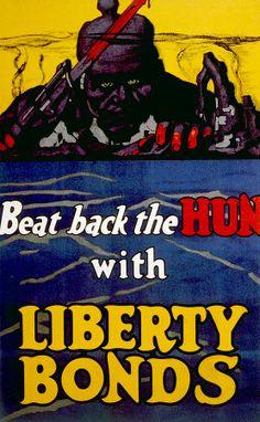 World War I American War Bonds Poster